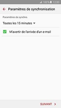 Samsung Galaxy A8 - E-mail - configuration manuelle - Étape 15