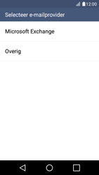 LG K4 - E-mail - Account instellen (IMAP zonder SMTP-verificatie) - Stap 5