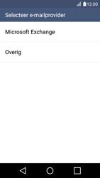 LG K4 - E-mail - Account instellen (POP3 met SMTP-verificatie) - Stap 5