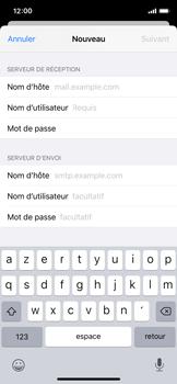 Apple iPhone X - iOS 13 - E-mail - Configuration manuelle - Étape 13