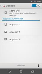 Sony E2003 Xperia E4G - bluetooth - headset, carkit verbinding - stap 6