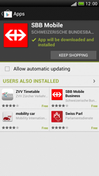 HTC One S - Applications - Installing applications - Step 24
