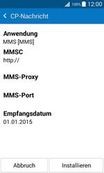 Samsung Galaxy J1 - MMS - Automatische Konfiguration - 0 / 0