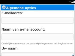 BlackBerry 9360 Curve - E-mail - Handmatig instellen - Stap 10