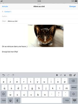 Apple iPad Air iOS 11 - E-mail - envoyer un e-mail - Étape 11