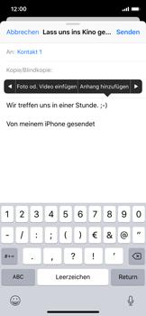 Apple iPhone X - E-Mail - E-Mail versenden - 10 / 16
