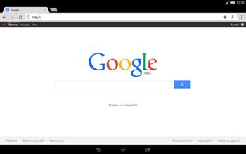 Sony Xperia Tablet Z2 LTE - Internet e roaming dati - Uso di Internet - Fase 12