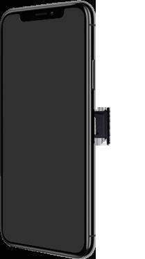 Apple iPhone X - Premiers pas - Insérer la carte SIM - Étape 3