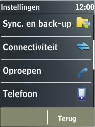 Nokia X3-02 - netwerk en bereik - gebruik in binnen- en buitenland - stap 4