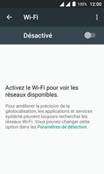 Alcatel Pixi 4 (4) - WiFi - configuration du WiFi - Étape 5