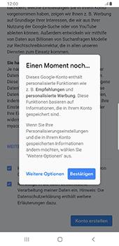 Samsung Galaxy S9 Plus - Apps - Konto anlegen und einrichten - 17 / 22