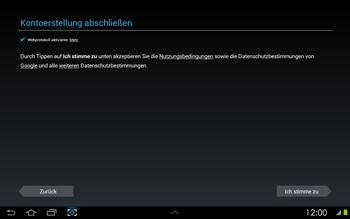 Samsung Galaxy Tab 2 10-1 - Apps - Konto anlegen und einrichten - 10 / 17