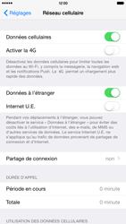 Apple iPhone 6 Plus - Internet - Désactiver du roaming de données - Étape 4