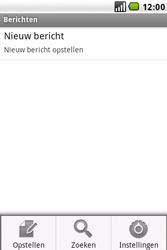 LG GW620 - SMS - handmatig instellen - Stap 5