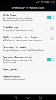 Huawei Mate S - Netzwerk - Netzwerkeinstellungen ändern - Schritt 5