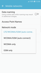 Samsung Samsung G925 Galaxy S6 Edge (Android M) - Network - Change networkmode - Step 7