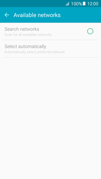 Samsung Galaxy A8 - Network - Manual network selection - Step 7