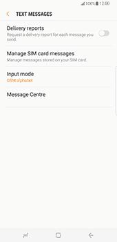 Samsung Galaxy S8 Plus - SMS - Manual configuration - Step 10