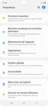 Samsung Galaxy A71 - Applications - Supprimer une application - Étape 4