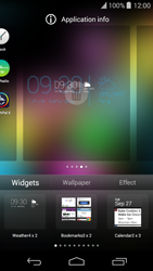 Wiko Highway Pure - Getting started - Installing widgets and applications on your start screen - Step 5