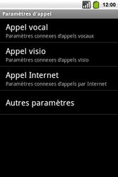 Alcatel OT-991 Smart - Messagerie vocale - Configuration manuelle - Étape 5