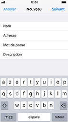 Apple iPhone 5s - iOS 12 - E-mail - Configuration manuelle - Étape 10