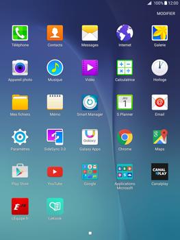 Samsung Galaxy Tab A - Internet et connexion - Naviguer sur internet - Étape 3