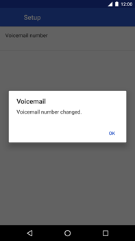 Huawei Nexus 6P - Android Oreo - Voicemail - Manual configuration - Step 11