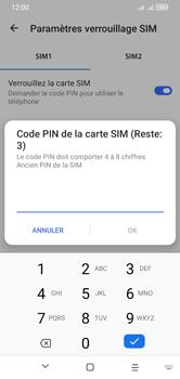 Alcatel 1S (2020) - Sécuriser votre mobile - Personnaliser le code PIN de votre carte SIM - Étape 8