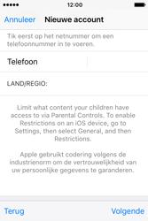 Apple iPhone 4S (iOS 9) - apps - account instellen - stap 24