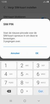 Samsung galaxy-j6-sm-j600fn-ds-android-pie - Beveiliging en ouderlijk toezicht - Hoe wijzig ik mijn SIM PIN-code - Stap 11