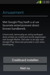 Samsung S6810P Galaxy Fame - apps - account instellen - stap 24