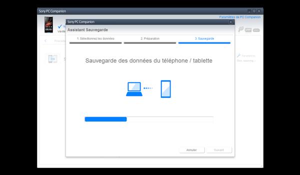 Sony Xperia Z - Logiciels - Comment effectuer une sauvegarde de votre appareil - Étape 9