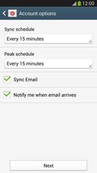 Samsung I9505 Galaxy S IV LTE - E-mail - Manual configuration POP3 with SMTP verification - Step 17