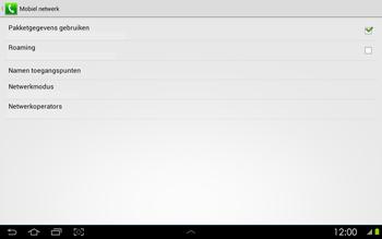 Samsung P5100 Galaxy Tab 2 10-1 - Bellen - in het buitenland - Stap 9