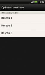 HTC Desire X - Réseau - Sélection manuelle du réseau - Étape 9
