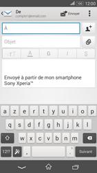 Sony E2003 Xperia E4G - E-mail - envoyer un e-mail - Étape 4