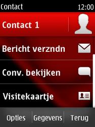 Nokia Asha 300 - contacten, foto