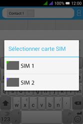 Alcatel Pixi 3 Dual Sim - Contact, Appels, SMS/MMS - Envoyer un SMS - Étape 10