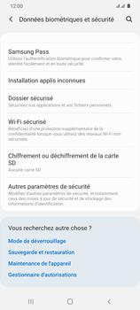 Samsung Galaxy S20 Ultra 5G - Prise en main - Comment activer un code SIM - Étape 5