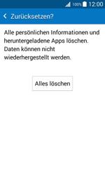 Samsung Galaxy J1 - Fehlerbehebung - Handy zurücksetzen - 2 / 2