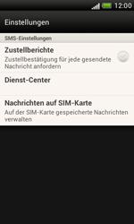 HTC Desire X - SMS - Manuelle Konfiguration - 5 / 7