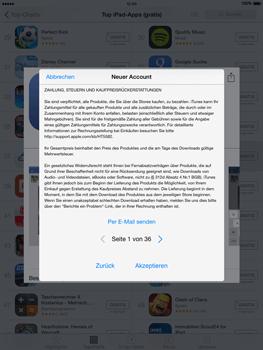Apple iPad mini - iOS 8 - Apps - Einrichten des App Stores - Schritt 11