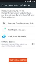 HTC 10 - Android Nougat - Fehlerbehebung - Handy zurücksetzen - Schritt 8