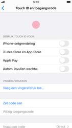 Apple iPhone 8 - iOS 13 - Beveiliging - stel in of wijzig pincode voor je toestel - Stap 4