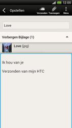 HTC S728e One X Plus - E-mail - E-mail versturen - Stap 14