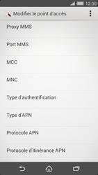 Sony Xperia Z2 - Internet et roaming de données - Configuration manuelle - Étape 11