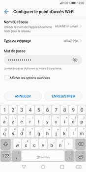 Huawei P Smart - Internet et connexion - Partager votre connexion en Wi-Fi - Étape 9