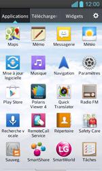 LG P710 Optimus L7 II - Messagerie vocale - configuration manuelle - Étape 4