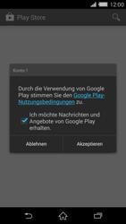 Sony Xperia Z2 - Apps - Konto anlegen und einrichten - Schritt 21